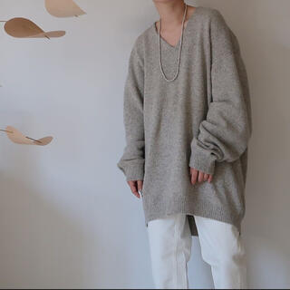 argue  WOOL MELLOW MIXYARN KNIT/GRAY MIX(ニット/セーター)