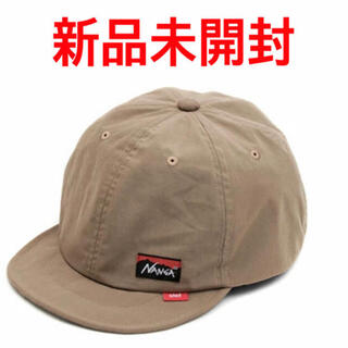 NANGA - NANGA × Clef TAKIBI BRIM CAP ベージュ