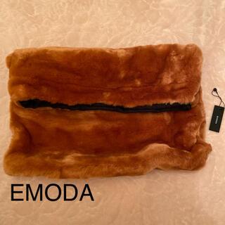 エモダ(EMODA)の【EMODA】エコファークラッチバッグ【新品】(クラッチバッグ)