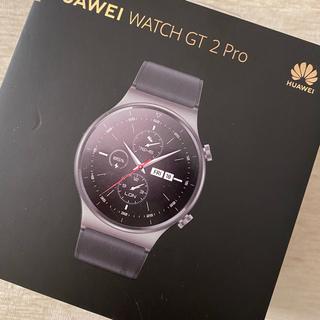 ファーウェイ(HUAWEI)の【新品未開封】Huawei WATCH GT 2 Pro Night Black(腕時計(デジタル))