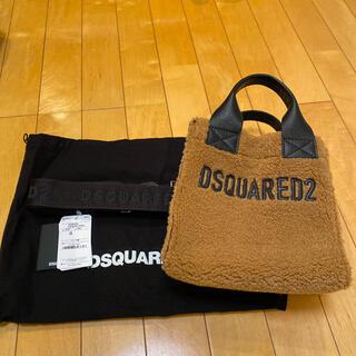 ディースクエアード(DSQUARED2)のDSQUARED2 ディースクエアード ロゴ ファー トートバッグ(トートバッグ)