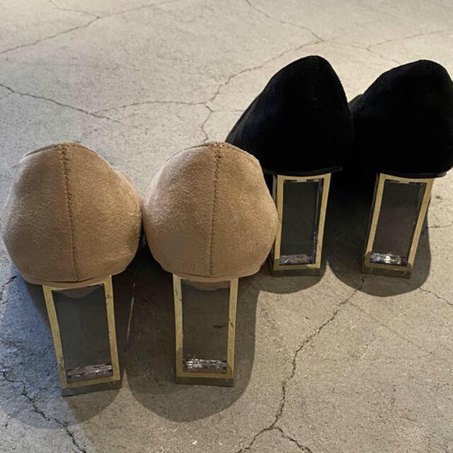 GYDA(ジェイダ)の新品未使用 RESEXXY クリアヒールパンプス レディースの靴/シューズ(ハイヒール/パンプス)の商品写真