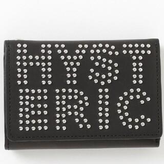 ヒステリックグラマー(HYSTERIC GLAMOUR)のHYSTERIC GLAMOUR ロゴスタッズ ミニ財布(財布)