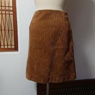 ルーニィ(LOUNIE)のキャメルブラウンSK(ひざ丈スカート)