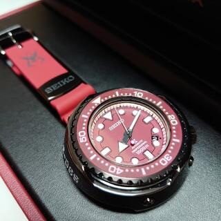 セイコー(SEIKO)のSEIKO プロスペックス SBDX029 ガンダム シャア専用ザクモデル(腕時計(アナログ))