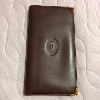 カルティエ(Cartier)のカルティエ  お札 カード 折り畳み(折り財布)