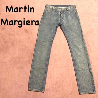 マルタンマルジェラ(Maison Martin Margiela)のマルタンマルジェラ ツレ加工デニム 44 slim(デニム/ジーンズ)