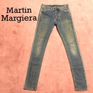 マルタンマルジェラ(Maison Martin Margiela)のマルタンマルジェラ⑩ パインピングスキニーデニム 44(デニム/ジーンズ)