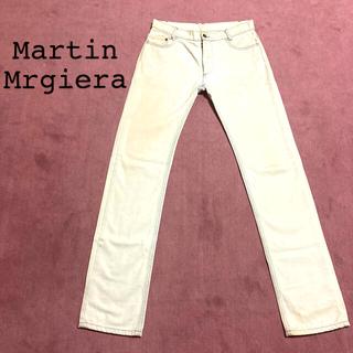 マルタンマルジェラ(Maison Martin Margiela)のマルタンマルジェラ⑩ 後染めホワイトデニム 44(デニム/ジーンズ)