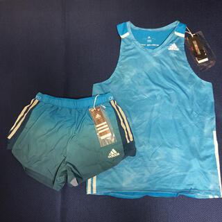 アディダス(adidas)の◎タグ付き・新品◎ アディダス『adizero』ランシャツ×ランパン 上下セット(陸上競技)