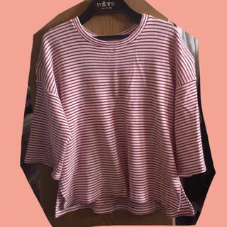 ジーユー(GU)のプルオーバー ♡(Tシャツ(長袖/七分))