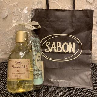 SABON - 【SABON 】サボン ホワイトティー シャワーオイル&ハンドクリームセット