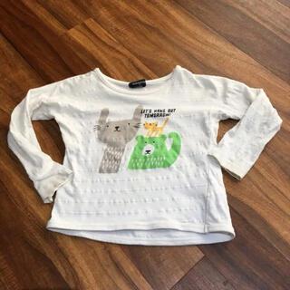 クレードスコープ(kladskap)の最安値300円【kladskap】動物ロンT 110 クレードスコープ(Tシャツ/カットソー)