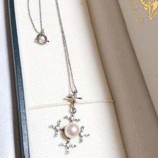 ダイヤモンドとパールのネックレス(ネックレス)