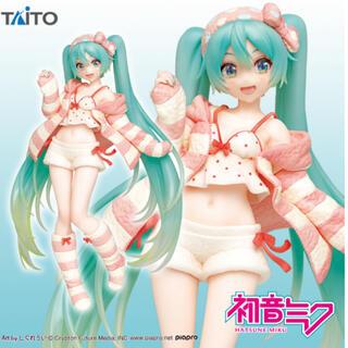 タイトー(TAITO)の初音ミク フィギュア ルームウェアver.(ゲームキャラクター)