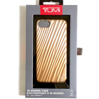 トゥミ(TUMI)のTUMI トゥミ iPhone SE,8,7 19 DEGREE ローズゴールド(iPhoneケース)