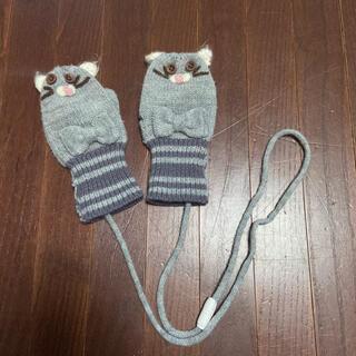 プティマイン(petit main)のプティマイン ネコ ニット 手袋(手袋)