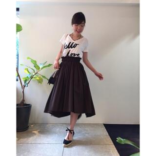 ダブルスタンダードクロージング(DOUBLE STANDARD CLOTHING)のスカート パンツ ダブスタ sov(ひざ丈スカート)