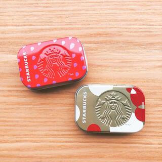 スターバックスコーヒー(Starbucks Coffee)のスターバックス アフターコーヒーミント ストロベリー イチゴ アップル ケース(小物入れ)