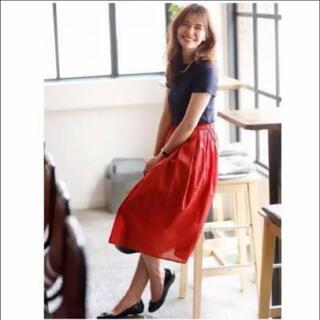 ユニクロ(UNIQLO)の美品 ユニクロ UNIQLO ロングスカート マキシスカート フレアスカート(ロングスカート)