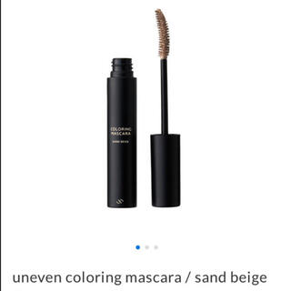 ミスティック(mystic)のuneven / coloring mascara/ sand beige(マスカラ)