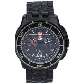 ルミノックス(Luminox)の限定 LUMINOX ルミノックス F-22 ラプター クロノグラフ 腕時計(腕時計(アナログ))