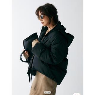 ミラオーウェン(Mila Owen)のmilaowen 裾リボンダウンジャケット(ダウンジャケット)