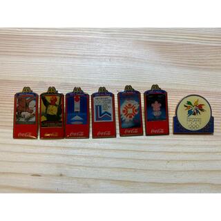 コカコーラ(コカ・コーラ)のオリンピック ピンバッチ マクドナルド コカコーラ(バッジ/ピンバッジ)