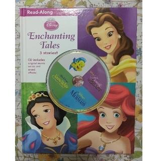 ディズニー(Disney)のDisney ディズニー Read Along CD付 絵本 プリンセス 英語(洋書)