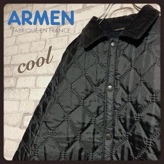 アーメン(ARMEN)の【トレンド】ARMEN アーメン/キルティングジャケット コート ポーランド製(ダウンジャケット)