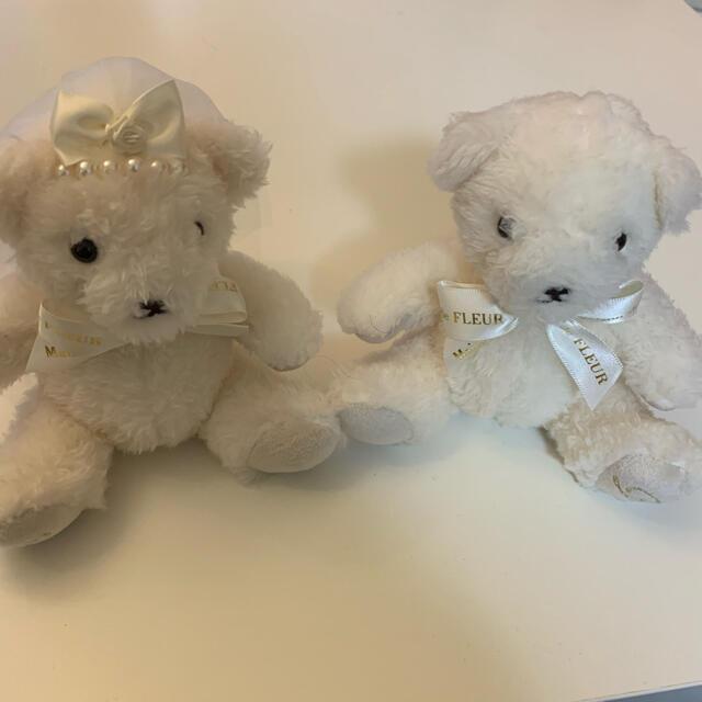 Maison de FLEUR(メゾンドフルール)のMaison de FLEUR Bride(花嫁)メゾンドフルールベアホワイト キッズ/ベビー/マタニティのおもちゃ(ぬいぐるみ/人形)の商品写真