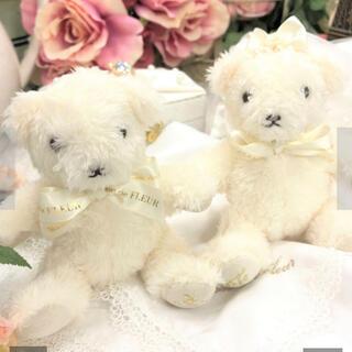 メゾンドフルール(Maison de FLEUR)のMaison de FLEUR Bride(花嫁)メゾンドフルールベアホワイト(ぬいぐるみ/人形)