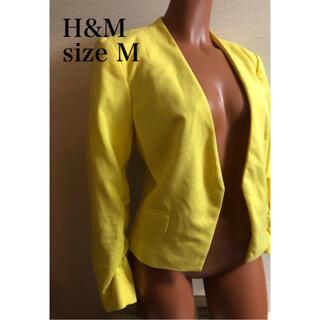 エイチアンドエム(H&M)のジャケット(ノーカラージャケット)