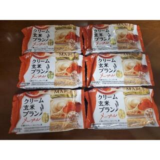 アサヒ(アサヒ)のクリーム玄米ブラン メープル 6袋セット②(ダイエット食品)