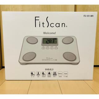 TANITA - TANITA FitScan FS-101-WH  体組成計