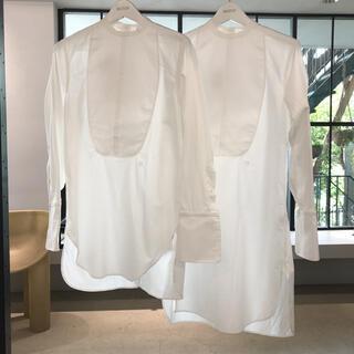 【新品未使用】フミカウチダ fumika uchida dress shirt(シャツ/ブラウス(長袖/七分))