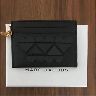 マークジェイコブス(MARC JACOBS)の新品 MARC JACOBSカードケース(名刺入れ/定期入れ)