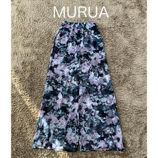 ムルーア(MURUA)のMURUA   花柄ワイドパンツ + インナーショートパンツ(その他)