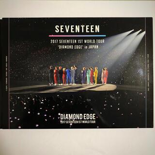 セブンティーン(SEVENTEEN)のSEVENTEEN DIAMOND EDGE in JAPAN BD トレカ付(アイドル)