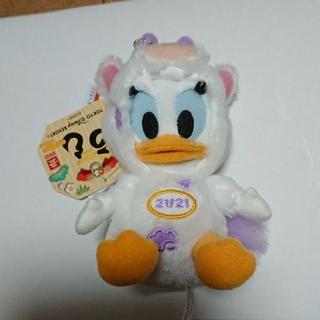 デイジー(Daisy)の2021 デイジー ぬいぐるみバッジ 干支 (うし)(キャラクターグッズ)