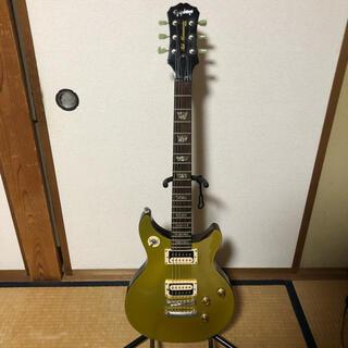エピフォン(Epiphone)のEpiphone Tak DC Standard Gold Top(エレキギター)
