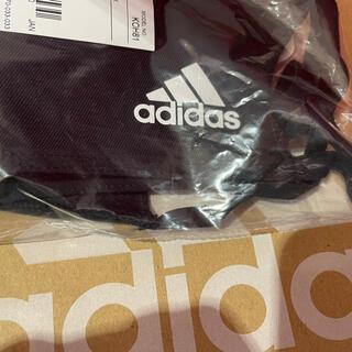 アディダス(adidas)のアディダス マスクカバー 黒 M/L  大人用 1枚 (日用品/生活雑貨)