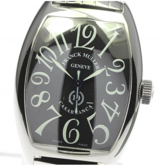 FRANCK MULLER(フランクミュラー)のフランクミュラー カサブランカ  8880C 自動巻き メンズ 【中古】 メンズの時計(腕時計(アナログ))の商品写真