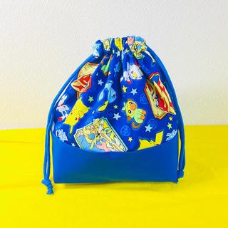 ポケモン(青)★弁当袋★大人気最新柄★ハンドメイド♪3(外出用品)