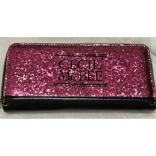 セシルマクビー(CECIL McBEE)のCECIL Mc BEE 長財布 超美品 ピンクラメ(財布)