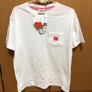ピーナッツ(PEANUTS)の【蛍光ピンクが可愛い】スヌーピー   Tシャツ(Tシャツ/カットソー(半袖/袖なし))
