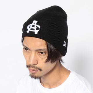 アヴィレックス(AVIREX)の【×NEW ERA】ベーシック カフ ニットキャップ AC刺繍(ニット帽/ビーニー)