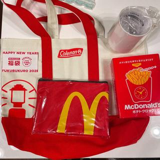 マクドナルド(マクドナルド)のマクドナルド 2021年福袋 オールセット コールマンコラボ(フード/ドリンク券)