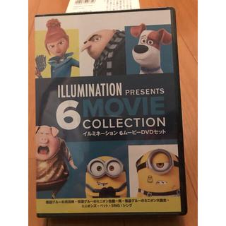 ミニオン(ミニオン)の新品未開封 イルミネーション6 ムービー DVDセット(外国映画)