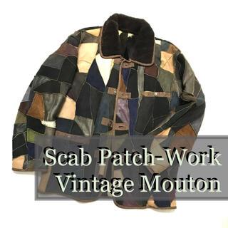 アンダーカバー(UNDERCOVER)のVINTAGE Scab-Work Mouton JKT(レザージャケット)